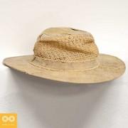 Rawganique Reincarnation Recycled Tarp Cowboy Straw Hat RDB-750