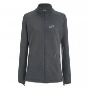 Jack Wolfskin Women's Caribou Altis Jacket - Dark Steel - L - Grey