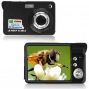 EY 2.7 '' TFT LCD HD 720p 18MP Videocámara Digital Cámara 8x Zoom Estabilizado Negro.