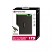 """1TB Transcend StoreJet 25MC(черен), външен, 2.5"""" (6.35 cm), USB 2.0"""