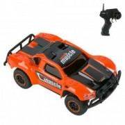 Masinuta telecomanda control drifturi curse portocalie neagra