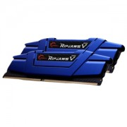 Memorie G.Skill Ripjaws V Steel Blue 16GB (2x8GB) DDR4 2400MHz CL15 1.2V Dual Channel Kit, F4-2400C15D-16GVB