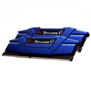Memorie G.Skill Ripjaws V Steel Blue 16GB (2x8GB) DDR4 2400MHz CL15 1.2V Dual Channel Kit, F4-2400C15D-16GVB