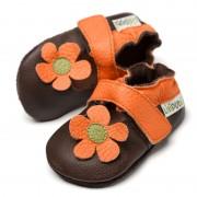 Sandale cu talpa moale Liliputi Kalahari Brown