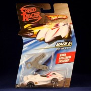MACH 6 WITH SAW BLADES Hot Wheels SPEED RACER 1:64 Scale Movie Vehicle
