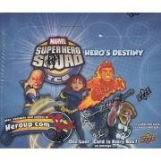 Marvel Super Hero Squad Trading Card Game Heros Destiny Booster Box