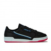 Adidas Femmes's adidas Originals Continental 80 Formateurs en noir UK 9.5