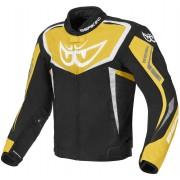 Berik Bad Eye Waterproof Motorcycle Textile Jacket Black Yellow 56