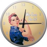 Ceas de perete - We can do it ! - Ø31 cm