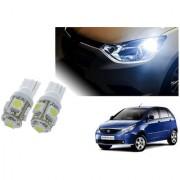 Auto Addict Car T10 5 SMD Headlight LED Bulb for Headlights Parking Light Number Plate Light Indicator Light For Tata Indica Vista