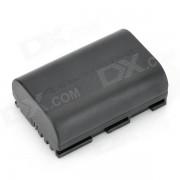 LP-E6 + 7.4V 1800mah bateria recargable de ion de litio para canon EOS 5D marca III + mas - negro