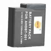 DSTE AHDBT-501 3.85V / 1230mAh para la camara de los deportes de GoPro HERO5