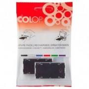 Colop Cartucce Pre-inchiostrati per timbri colore neroSet di 5