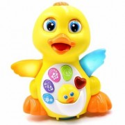 Jjoss Lovely Dancing Yellow Duck toy with light and Sound for Kid