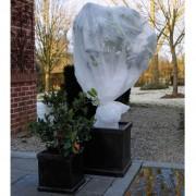 Nature Husă anti-îngheț pentru plante, fleece, alb, 4 x 6 m, 6030117