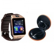 Mirza DZ09 Smart Watch and Katori Earphone for LG OPTIMUS L3 II DUAL(DZ09 Smart Watch With 4G Sim Card Memory Card| Katori Earphone)