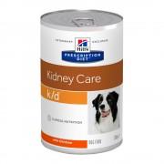 12x370g Hill's Prescription Diet k/d Kidney Care comida húmida com frango