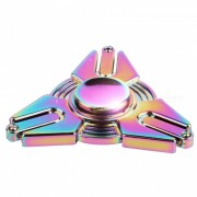 OJADE Iron Man Shape Fidget Lanzamiento Manos Spinner-multicolor
