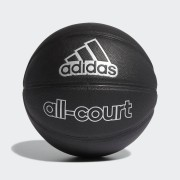 adidas All-Court Basketbal - Unisex - Black / Silver Metallic - Grootte: 7
