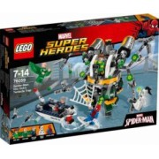 LEGO SUPER HEROES - SPIDER MAN: CAPCANA CU TENTACULE A LUI DOC OCK 76059