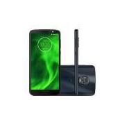 Smartphone Motorola Moto G6 32GB Indigo Câmera 12MP+5MP Tela 5,7 4G XT1925-3