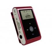 mpman MP30WOM MP3-speler 0 GB Rood Met bevestigingsclip