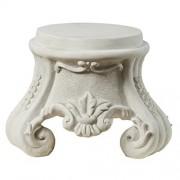 Design Toscano Rococo Plinto escultural