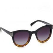 Daniel Klein Cat-eye Sunglasses(Grey)