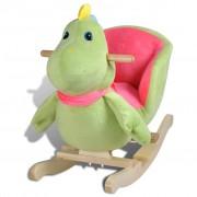 vidaXL Люлеещо се столче - динозавър
