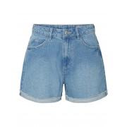 VERO MODA Hw Loose Fit Shorts Damen Blau