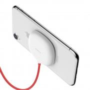 Baseus tapadókorong vezeték nélküli töltő Qi töltő Suckers (WXXP - 02), fehér