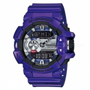 casio g-shock GBA-400-2A g'mix reloj de musica bluetooth-azul purpura