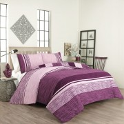 "Спално бельо ""Purple Lux"" Ранфорс - 100% Памук"