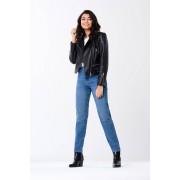 ''Gina Tricot'' ''Mom TALL jeans'' ''Midblue f (5499)'' 42