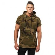 Better Bodies Men Better Bodies Bronx T-shirt Hoodie Military Camo