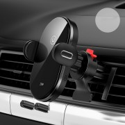 USAMS US-CD132 Full Automatic Coil Induction Wireless Charging 15W Car Bracket (Air Outlet Version)