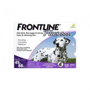 Frontline Plus For Large Dogs 45-88 Lbs (Purple) 3 Months