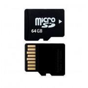 MicroSD-kaart 64 GB met adapter