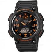 Casio AQ-S810W-8AVDF resistente reloj deportivo solar - negro + rojo (sin caja)