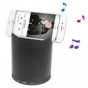 Boxa Portabila Cu Conexiune Wireless Bluetoot, Microfon Si Slot TF Card Cu Suport Pentru Telefon Neagra