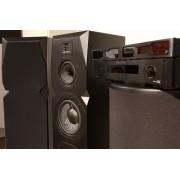 Emotiva T2 + PA-1 + PT-100 + BTM + högtalarkabel Svart