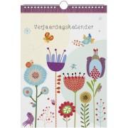 verjaardagskalender - bloemen