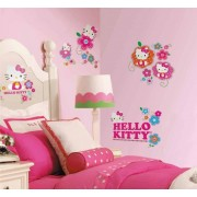 Stickere perete copii 3D Hello Kitty