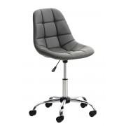 CLP Silla de Escritorio Emil , gris gris, altura del asiento