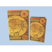 Könyv alakú doboz 2 db (térképes)