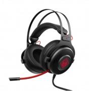 HEADPHONES, HP Omen 800, Headset, Black/Red (1KF76AA)