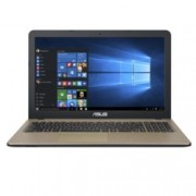 "Лаптоп Asus X540SA-XX411T, двуядрен Braswell Intel Celeron N3060 1.60/2.48 GHz, 15.6"" (39.62 cm) HD дисплей(HDMI), 4GB LPDDR3L, 1TB HDD, 1x USB 3.1 (Type-C), Windows 10, 1.9kg"