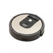 Прахосмукачка IRobot Roomba 966, робот, безжична, до 120 мин. работа, за площ до 185 кв.м, AeroForce филтър, кафява