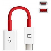 NEW TYPE C OTG USB CABLE FOR ONEPLUS 2 / ONEPLUS 3 / 1+2 / 1+3 - WHITE