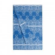 Bassetti Time Foulard Telo Arredo TABRIZ 3 blu 180x270 cm puro cotone